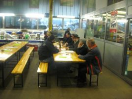 Impressionen der Kalenderabholtage vom 1. - 2. Dezember 2012