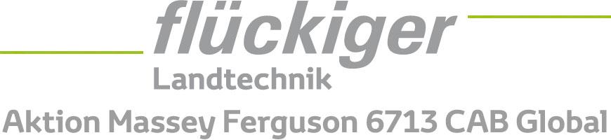 flückiger Landtechnik - Aktion Massey Ferguson 6713 CAB Global
