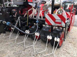 flückiger Landtechnik – Breviglieri mit Krummenacher Sägerät