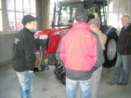 flückiger Landtechnik - Impressionen der Kalenderabholtage vom 1. – 2. Dezember 2014